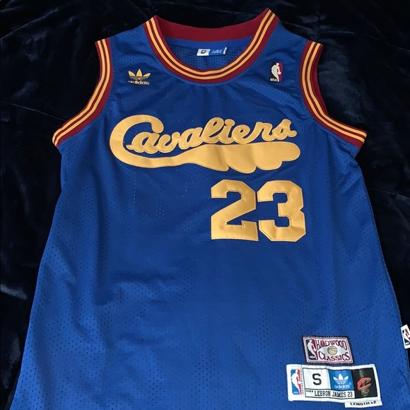 low priced f1edc 720ad Throwback Adidas Cavaliers Lebron James Jersey